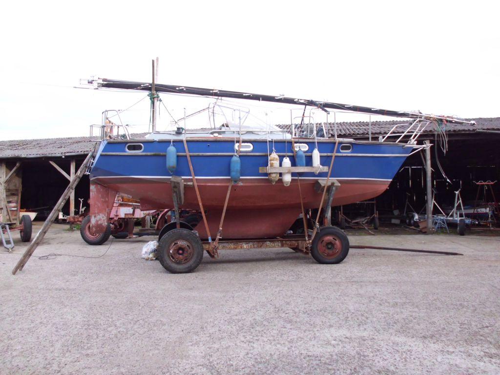 jetziger Aufenthaltsort in der Werft in Varel