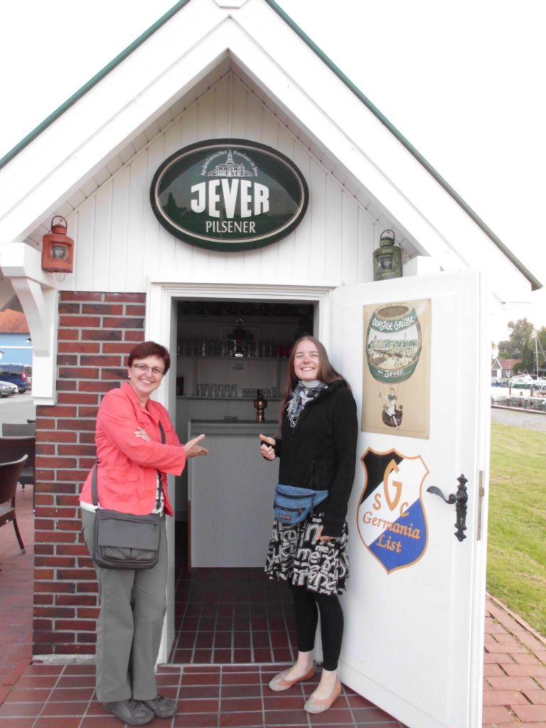 Auch das kleinste Pub Deutschlands hat mal offen