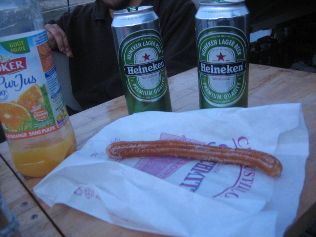 Chichi mit Bier