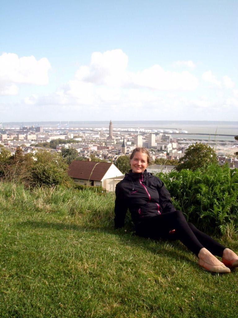 Ausblick auf Le Havre