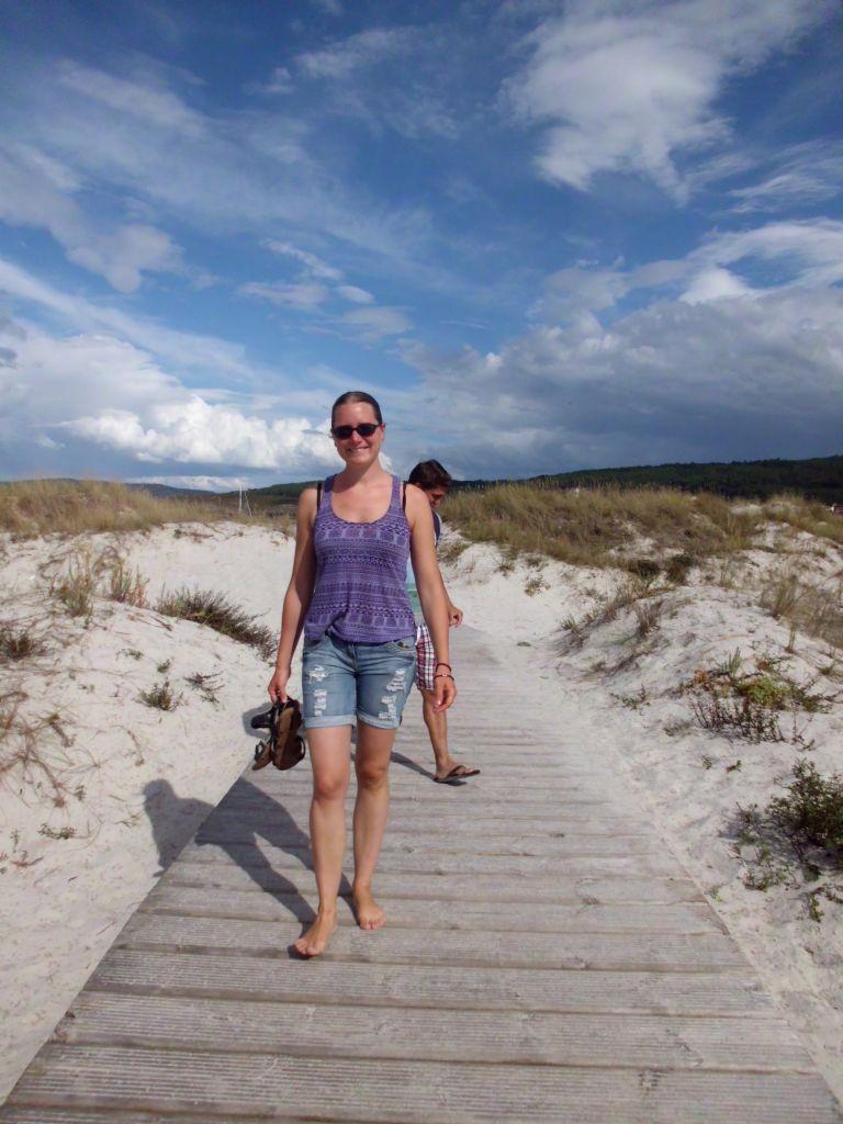 Sanddünen in Laxe