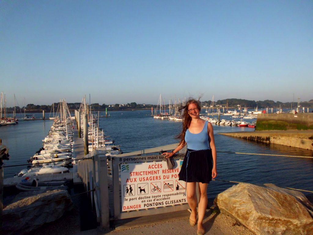 Der Hafen von L'Aber-Wrac'h