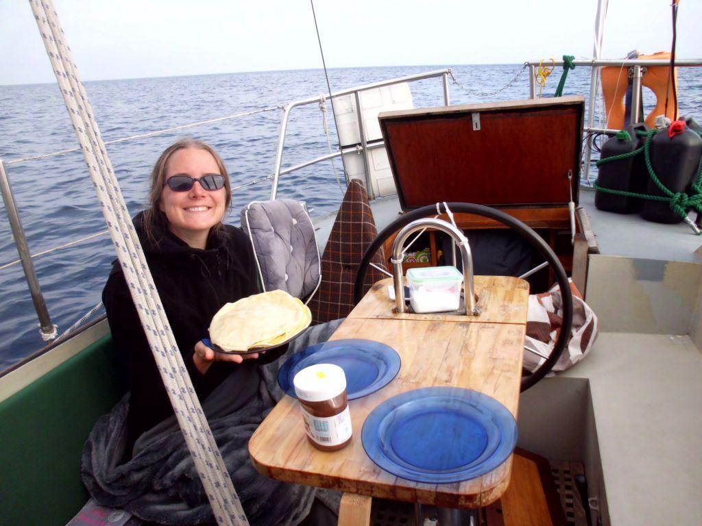 Palatschinken schmecken auch auf 5000 Meter Wassertiefe