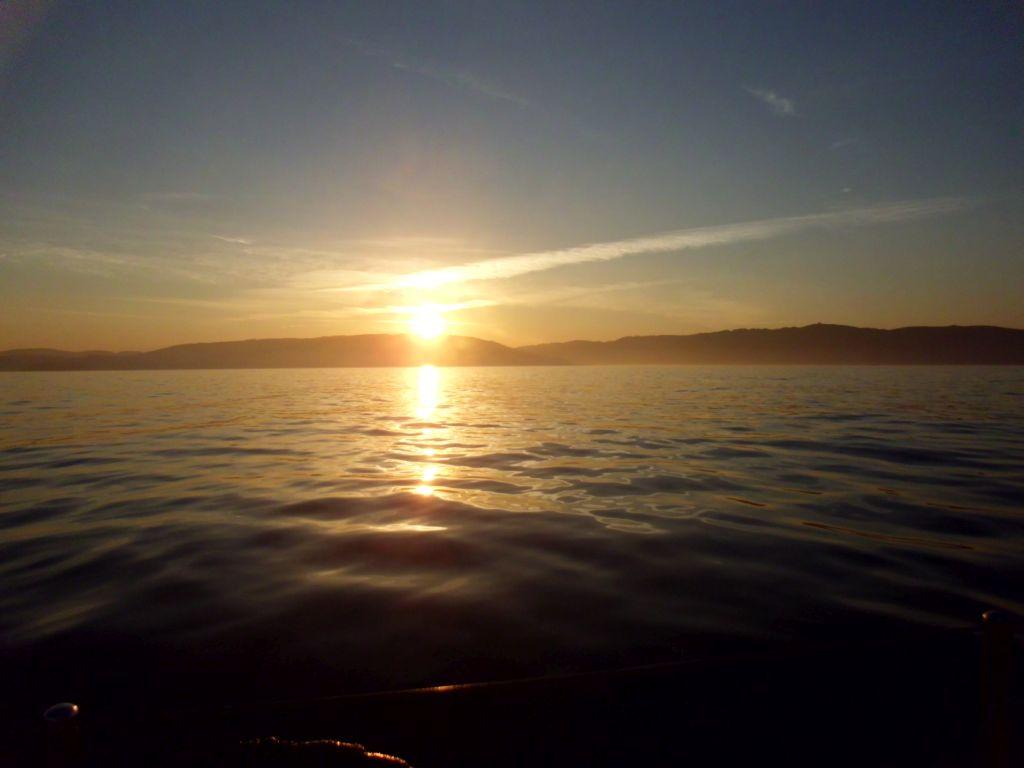 Spanien im Sonnenaufgang