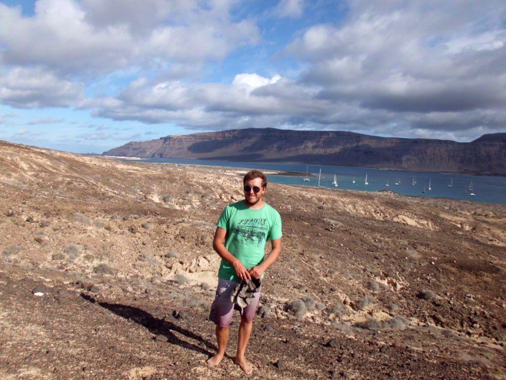Eine kleine Wanderung zum ehemaligen Vulkankrater