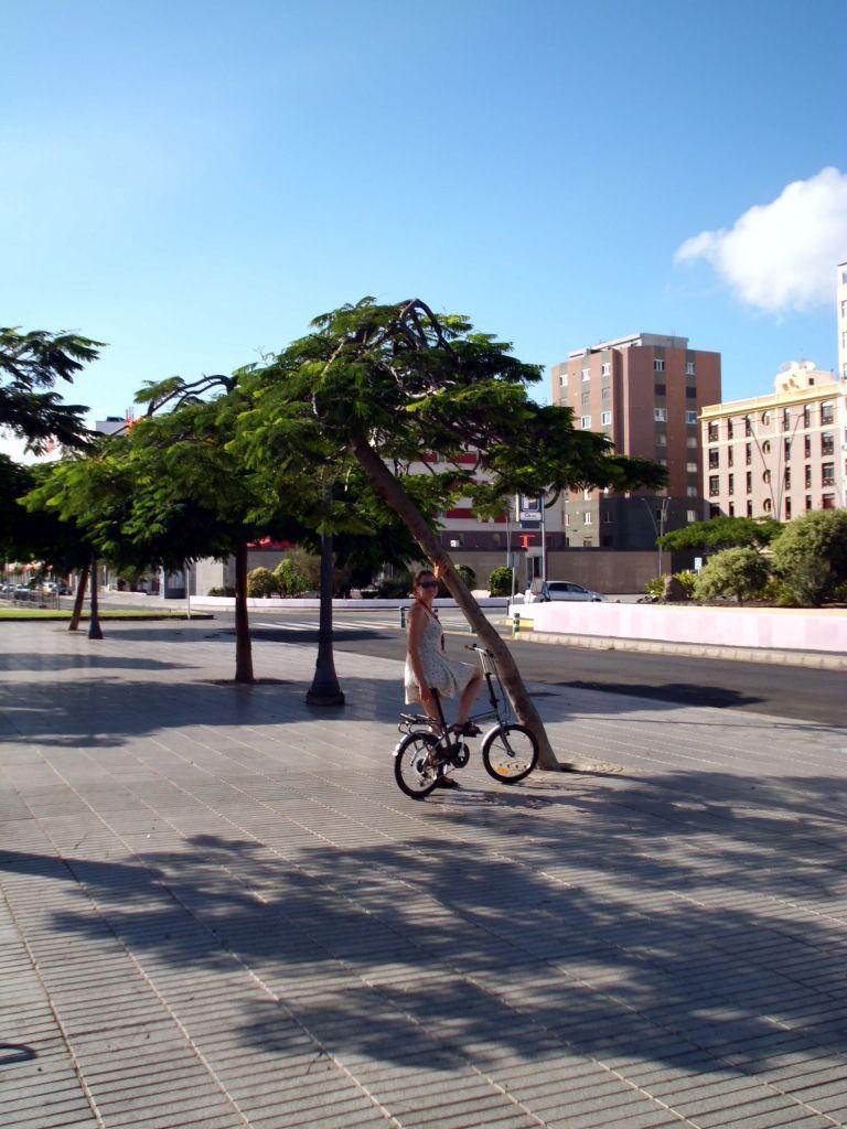 Mit dem Fahrrad unterwegs durch Las Palmas