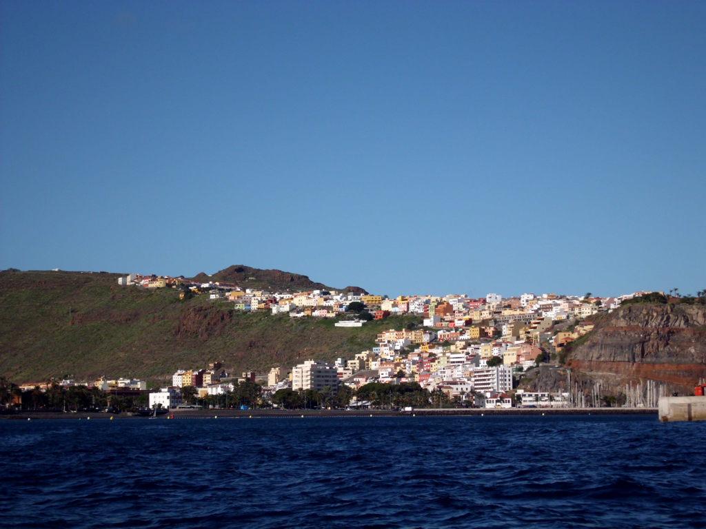 San Sebastion vom Schiff aus