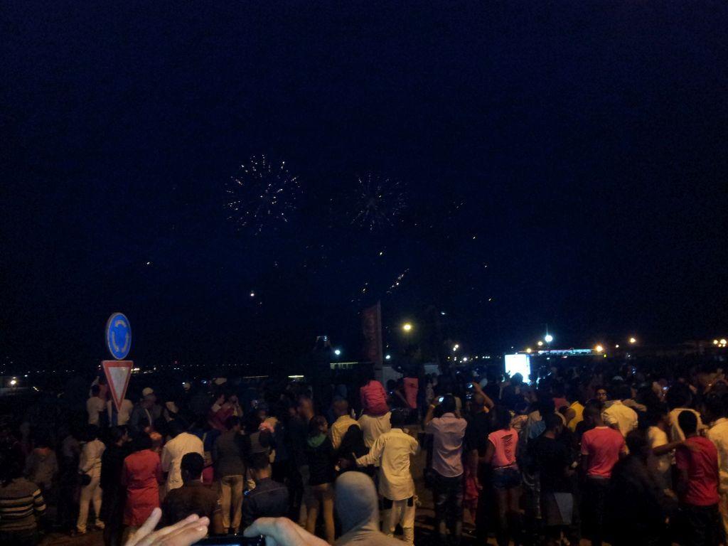Wiedermal ein Feuerwerk über der SAILOR MOON