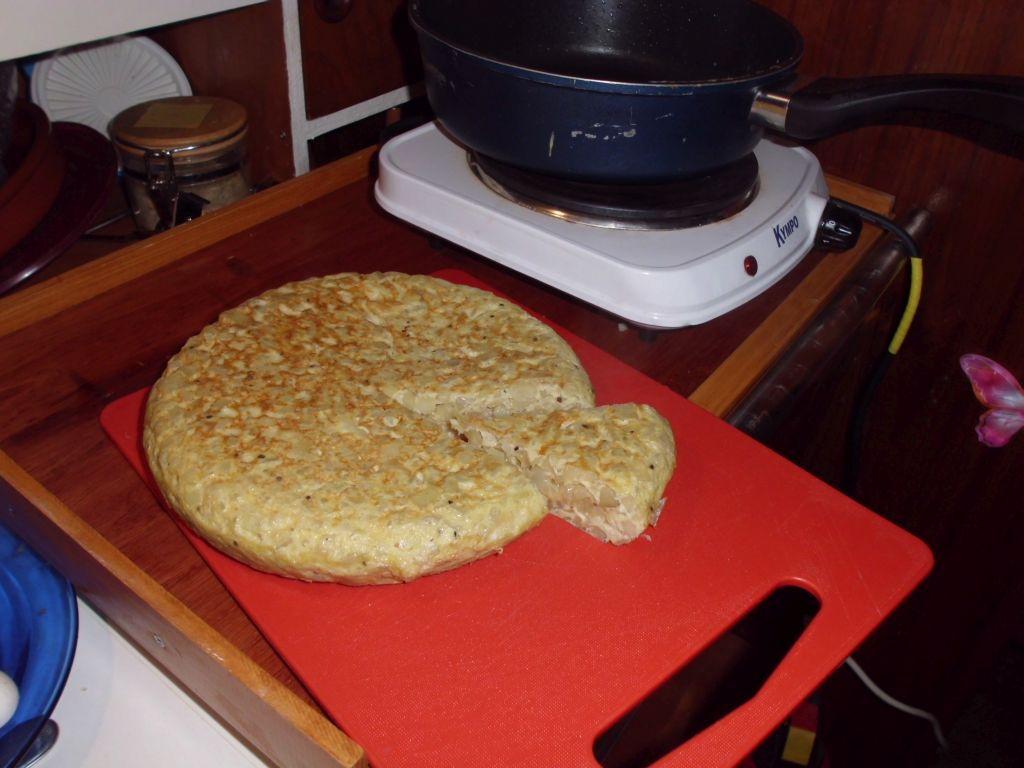 Meine Tortilla-Skills werden besser und besser