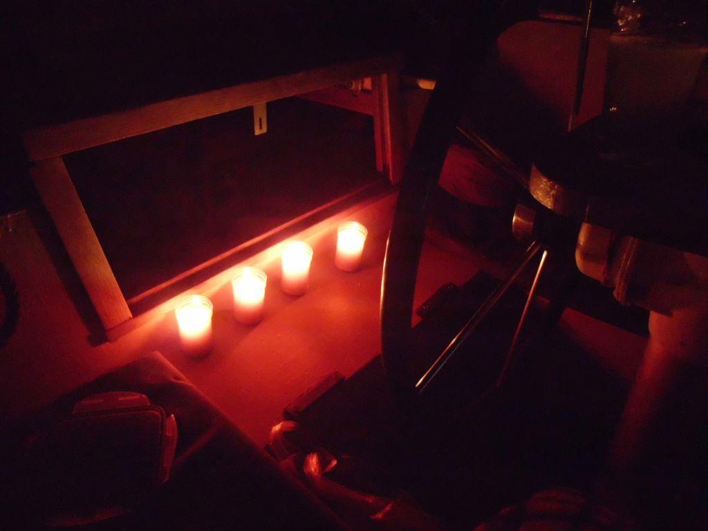 Weihnachten im Cockpit