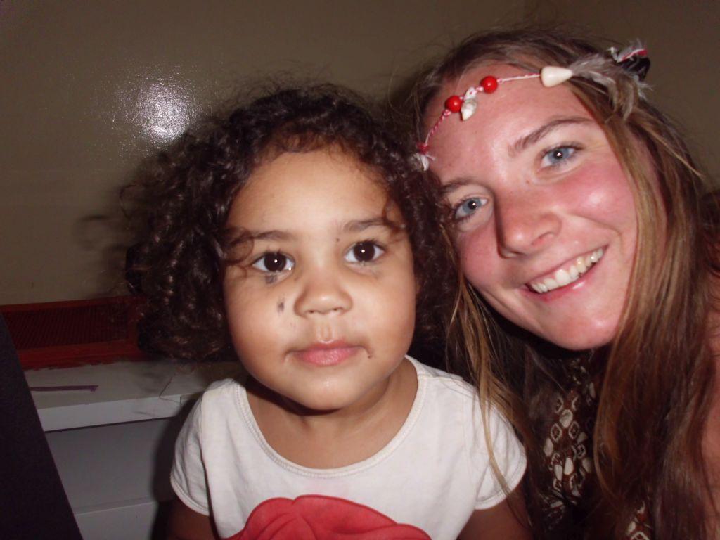 Jaqueline und Milans jüngste Tochter Eva