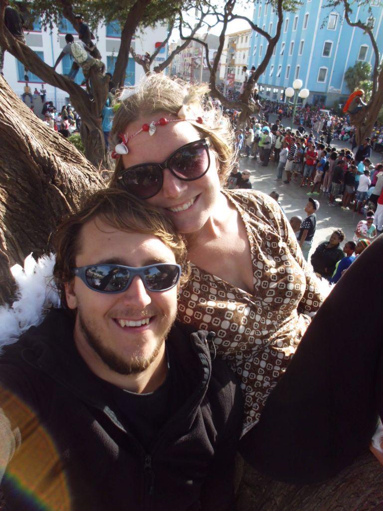 Baum-Selfie