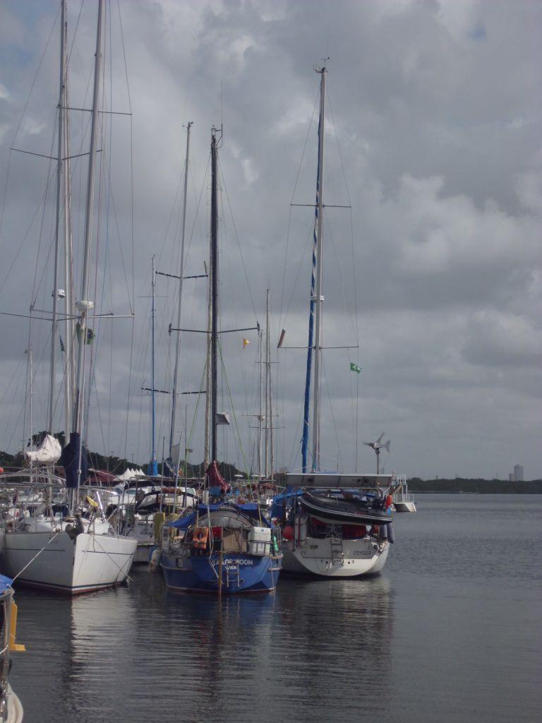 Die SAILOR MOON ist wiedermal das kleinste Boot