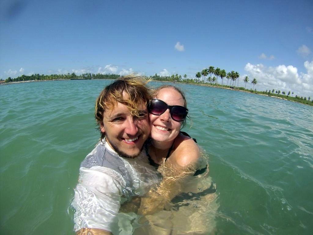 Wasser-Selfie