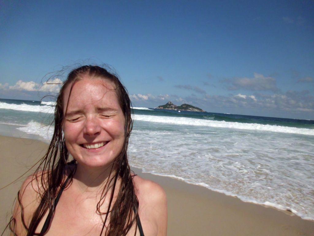 am Strand von Barra da Tijuca