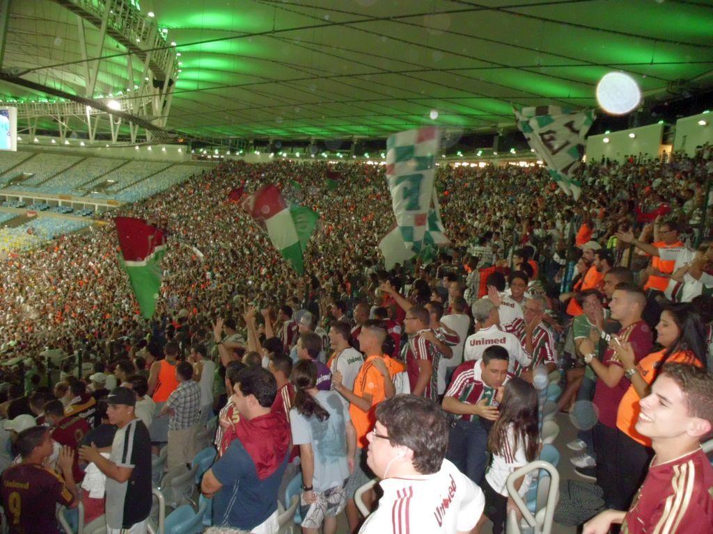 Fans im Maracana-Stadion