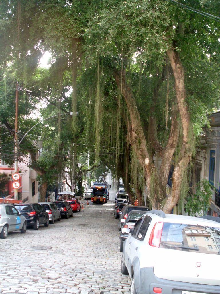 Straße in Santa Teresa