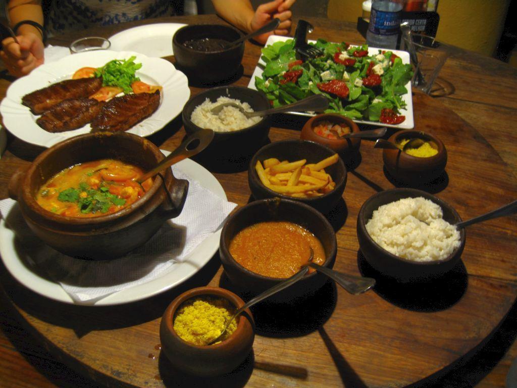 ausgezeichnetes Essen in Pipa