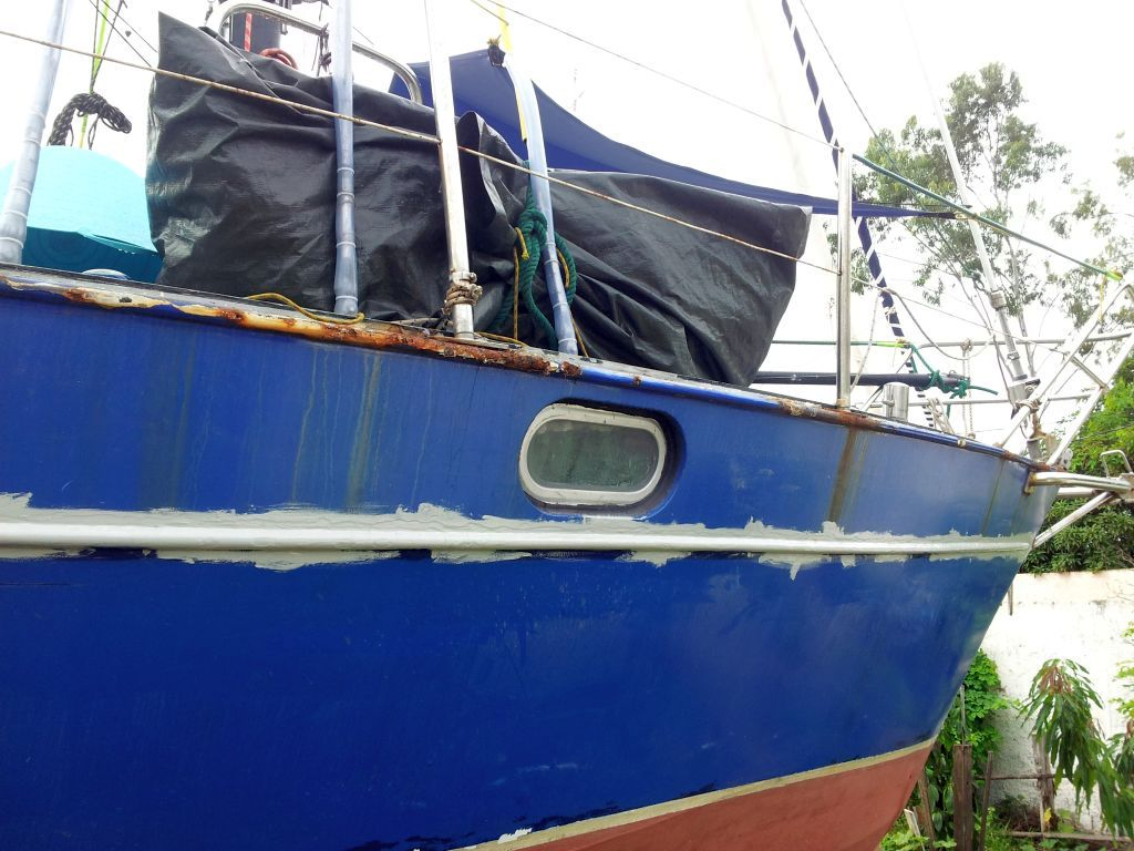 """Lektion zwei in Sachen """"Klebe dir kein holz auf dein Stahlboot"""""""