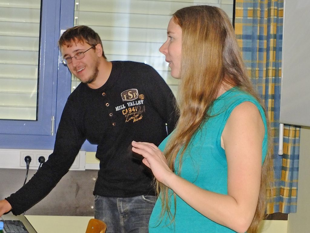 Präsentation in der HAK Oberpullendorf