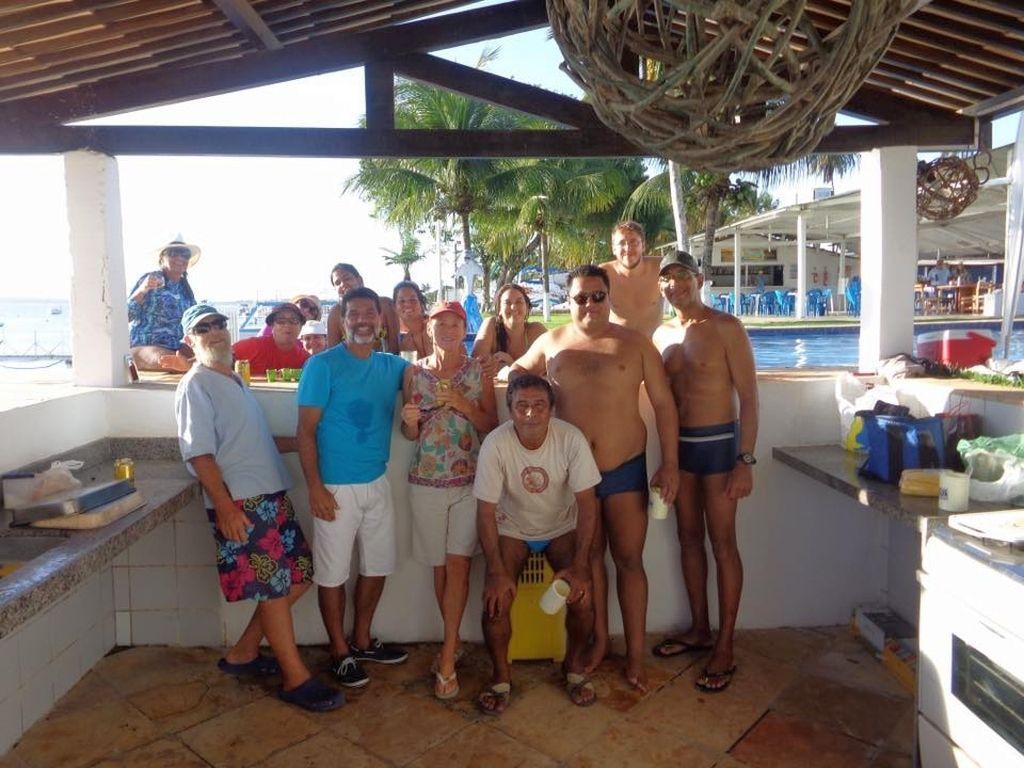 Grill- und Poolparty im Yachtclub