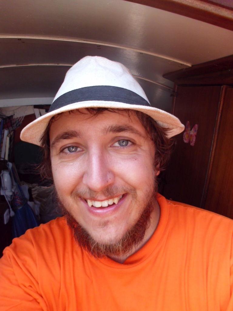 der Skipper nach 3 Wochen auf See