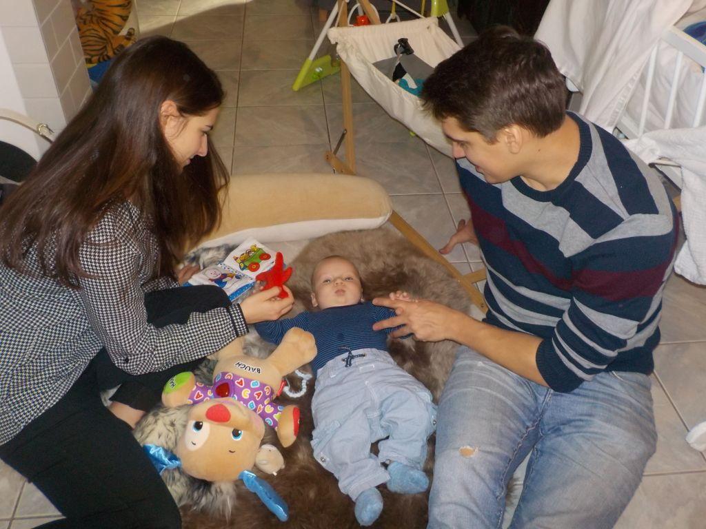 Giulia, Matti und Willi