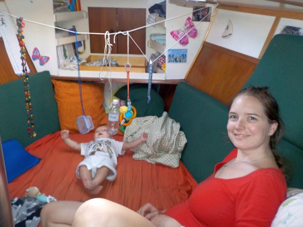 so sieht ein baby-gerechtes Vorschiff aus