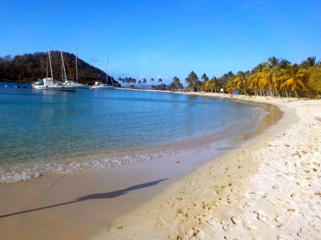 Strand auf Mayreau