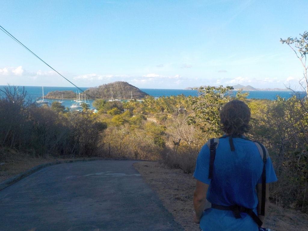 wandern auf der Insel