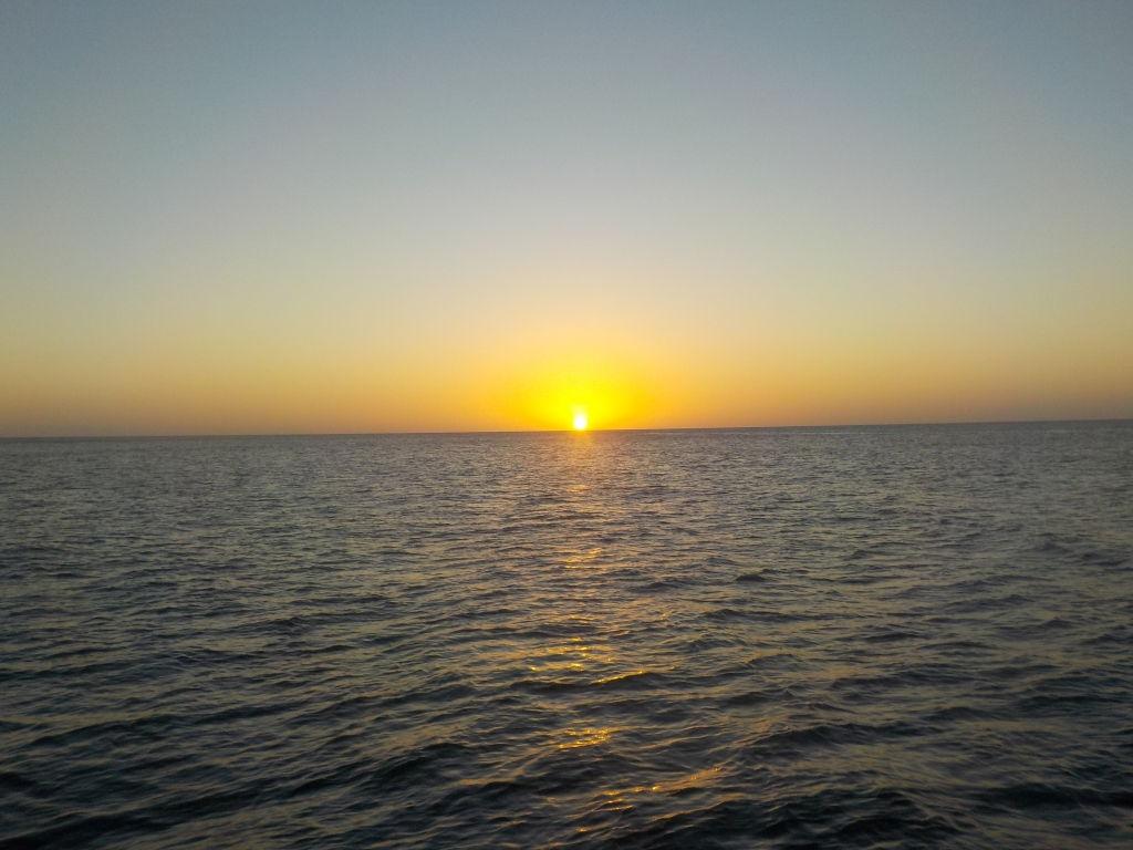 Sonnenuntergang auf Mayreau