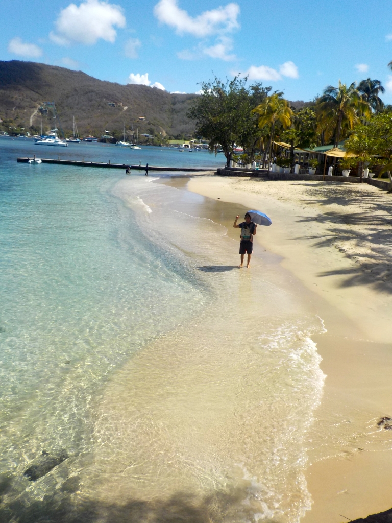Strand in Bequia