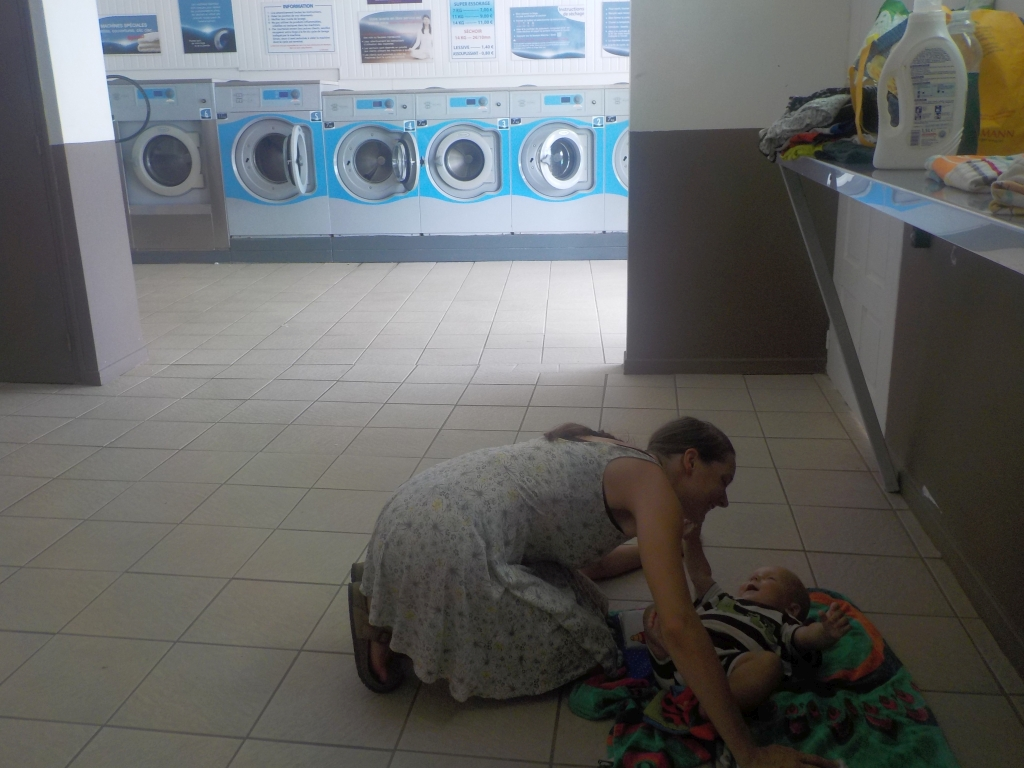 im Waschsalon