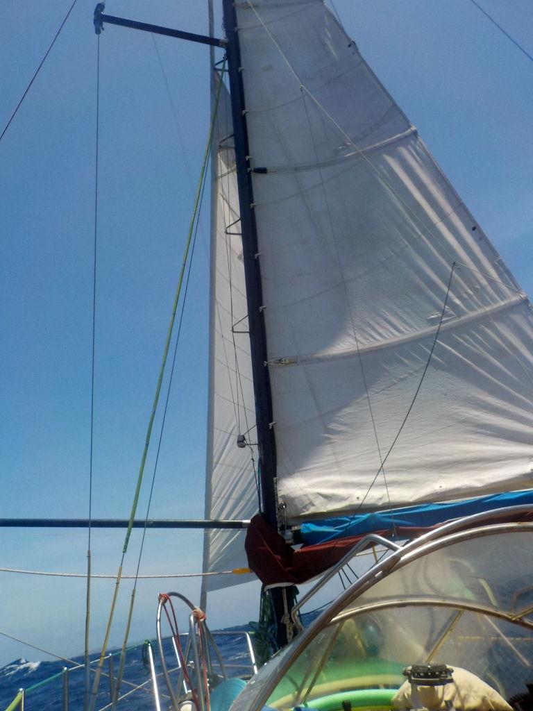 unterwegs über das karibische Meer