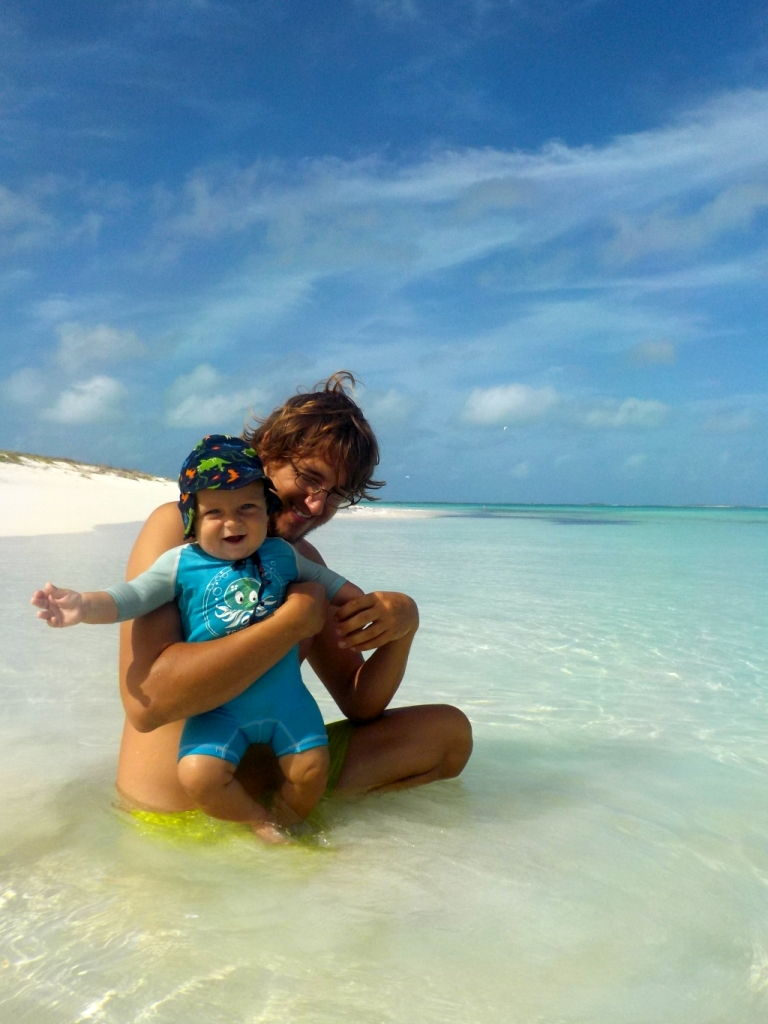 ein Strand für uns alleine