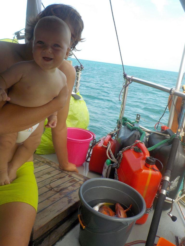 WIlli freut sich auf die Fische