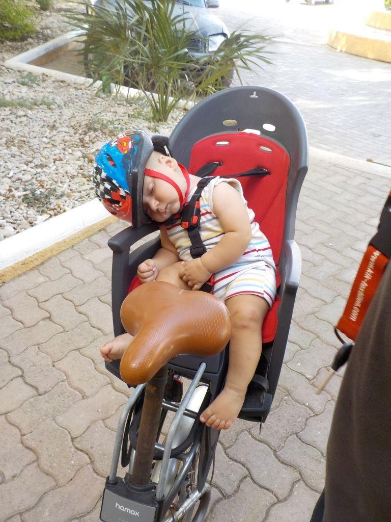Radfahren ist anstrengend!