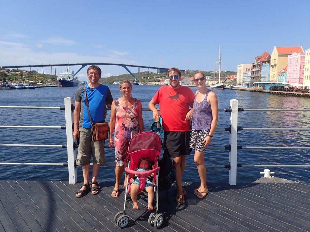 das obligatorische Brückenfoto in Willemstad