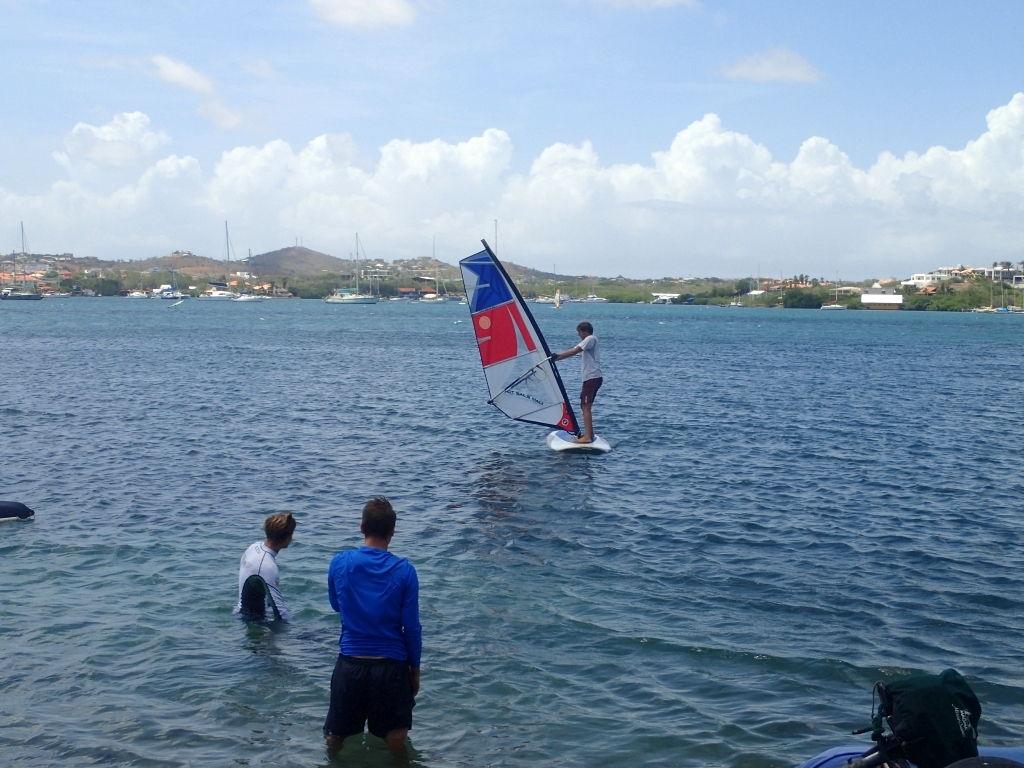 Windsurfen!