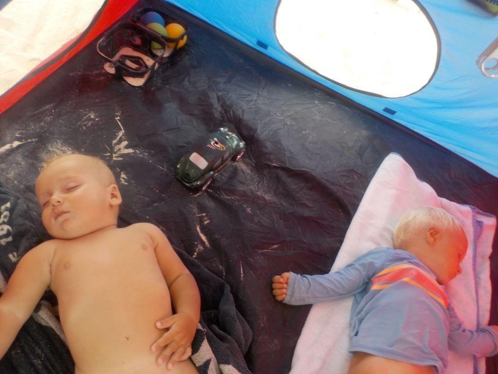 Schlafen im Zelt