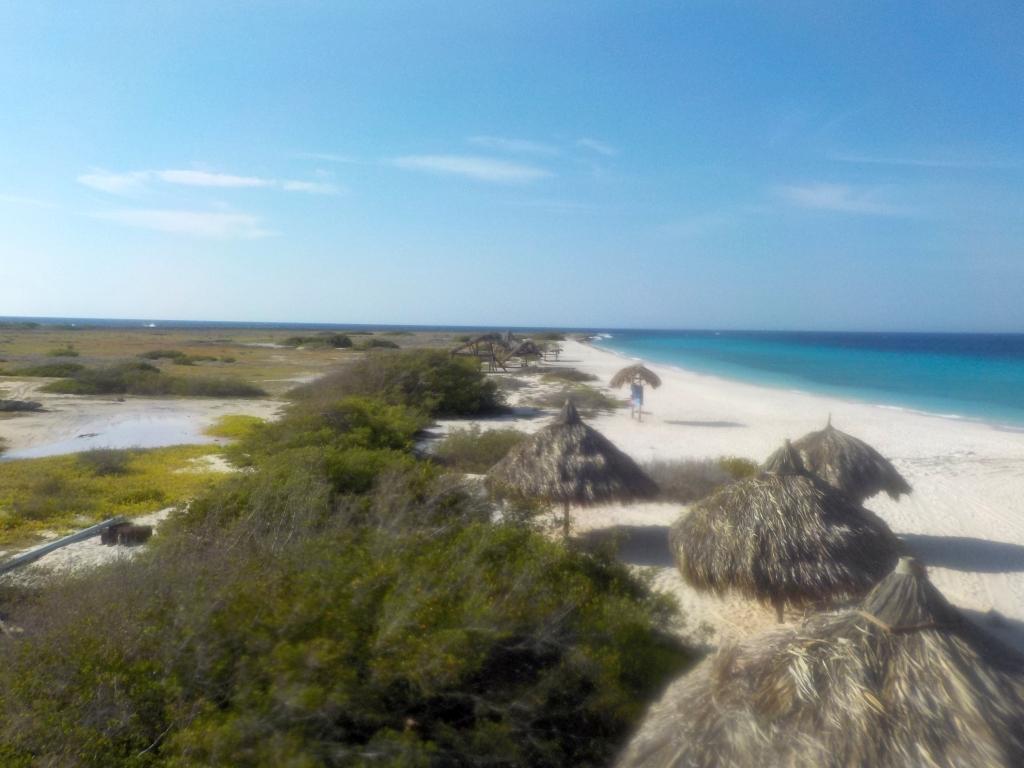 Blick über Klein Curacao