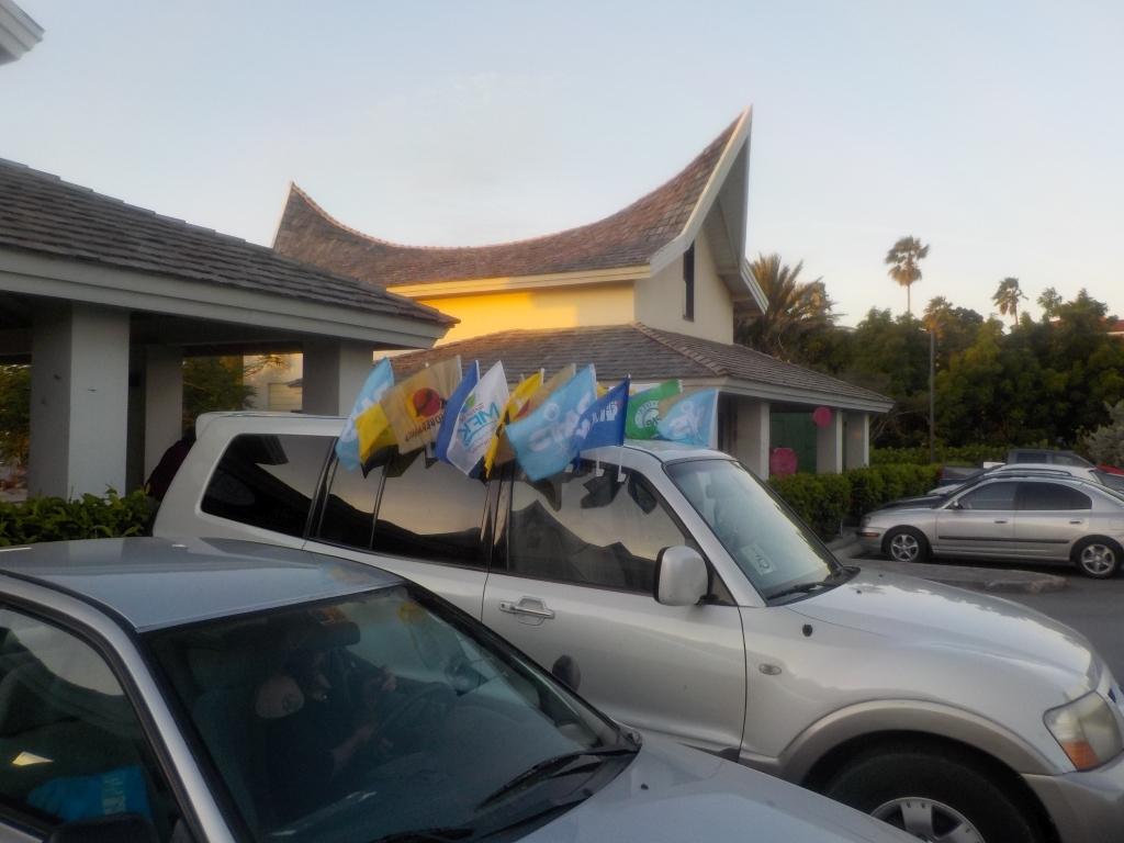 Welche der 14 Parteien von Curacao wird der wohl wählen?