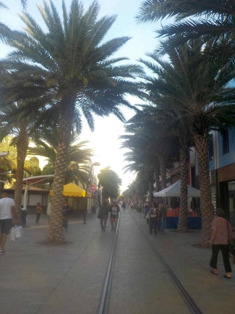 die sogenannte Main Street