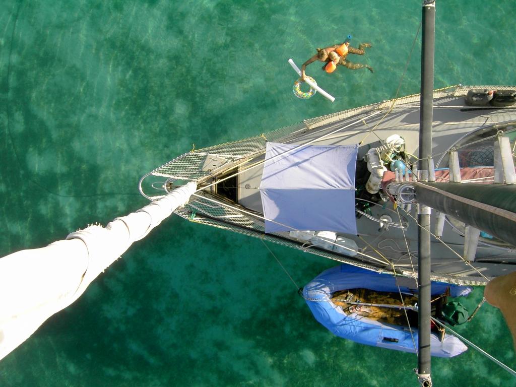 ganz ruhiges Wasser in Aruba